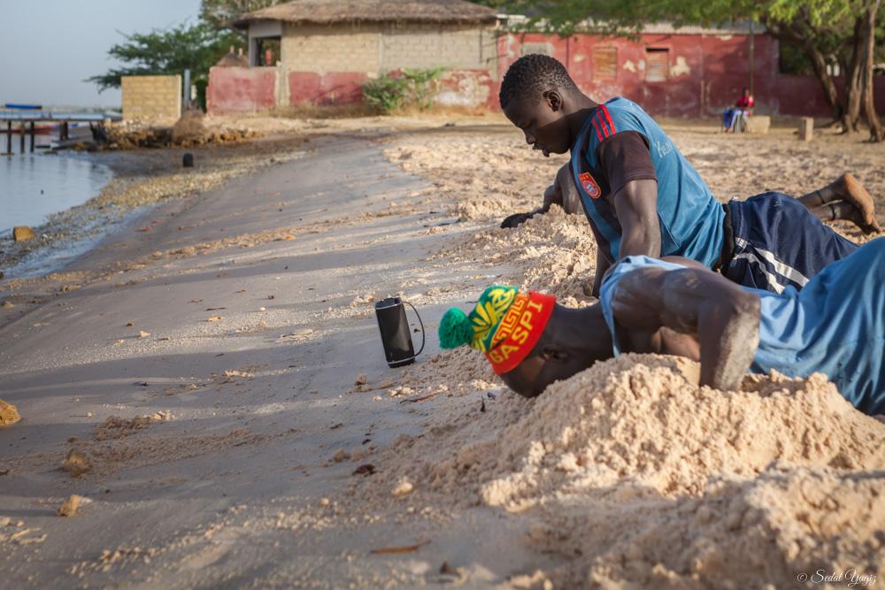lutteurs de Mar Lodge - Sénégal 8